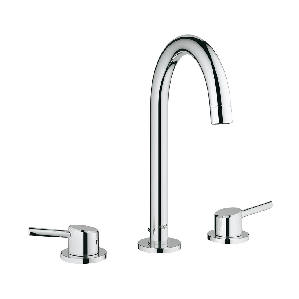 Grohe Concetto 8 Widespread Two Handle Bathroom Faucet L Size Bradshaw Plumbing Service