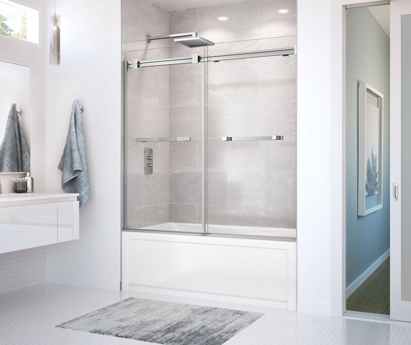 Maax Duel door shower and tub door |